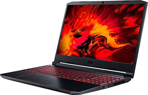 "Acer Nitro 5 15.6 "" FHD IPS Gaming Laptop w/ Woov Sleeve, Intel Quad-Core"