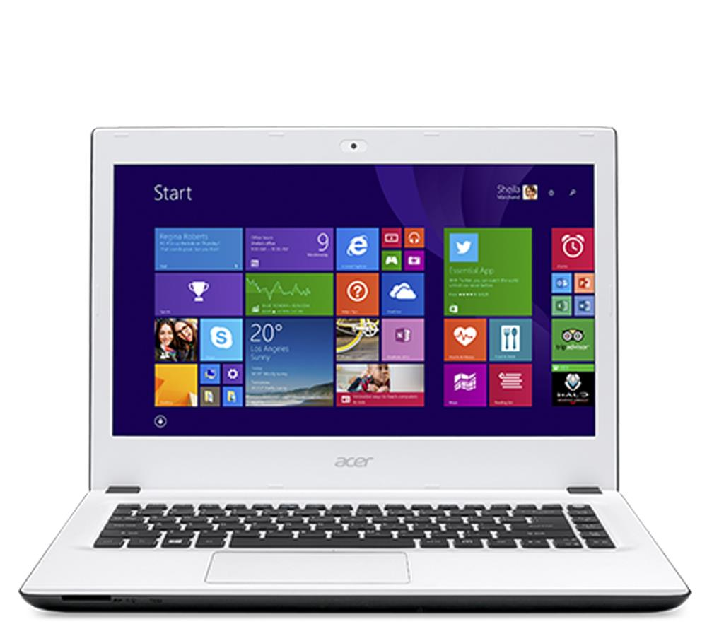 Acer® Notebook Aspire E5-473-P7YV W10H(Cotton White)