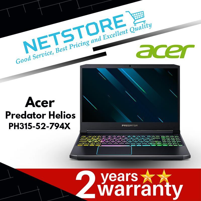 Acer Predator Helios 300 Ph315 52 794x Laptop Intel Core I7 9750h