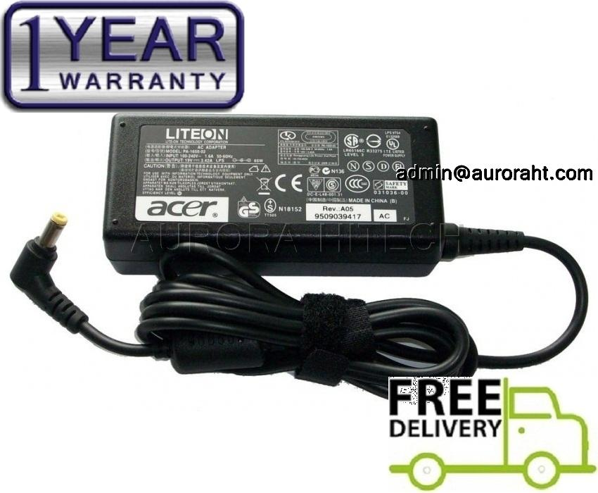 Acer TravelMate 370 380 4020 4060 4152 4500 4720 5600 8100 AC Adapter