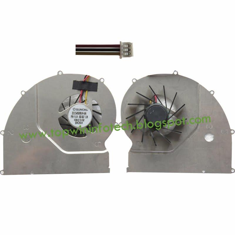 ACER TravelMate 6293 TM6293 ZC055010VH-6A COOLING FAN