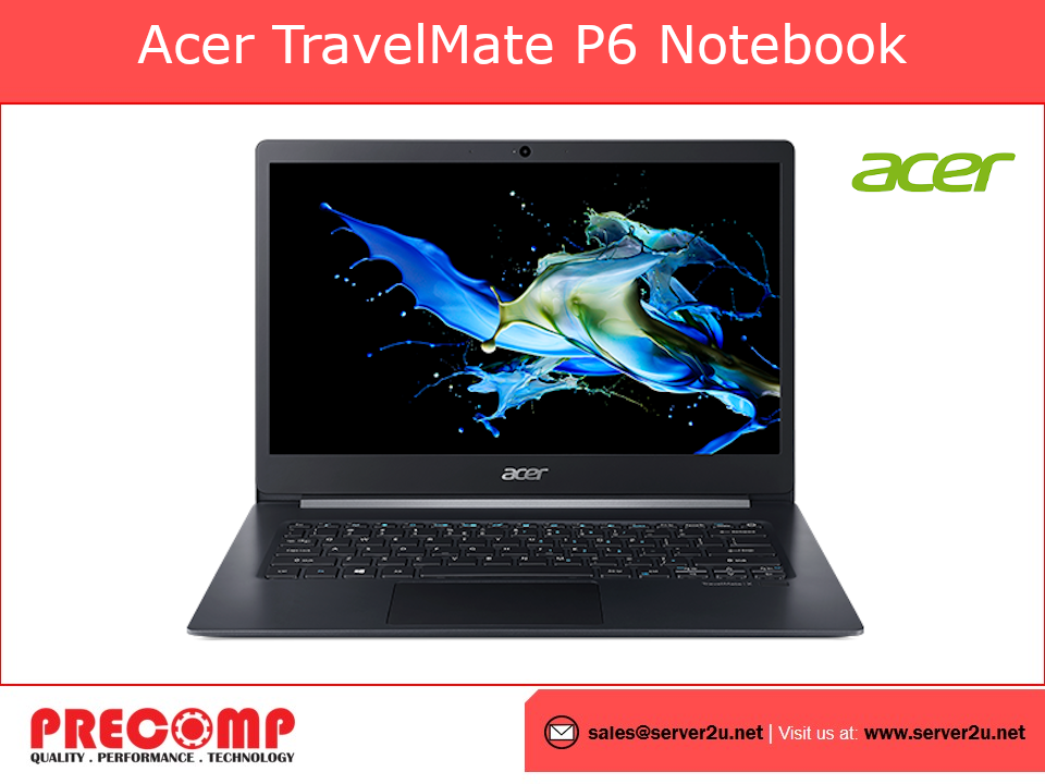 Acer TravelMate P614-51G-G2-72TU Notebook(i7-10510U.8GB.1TB)