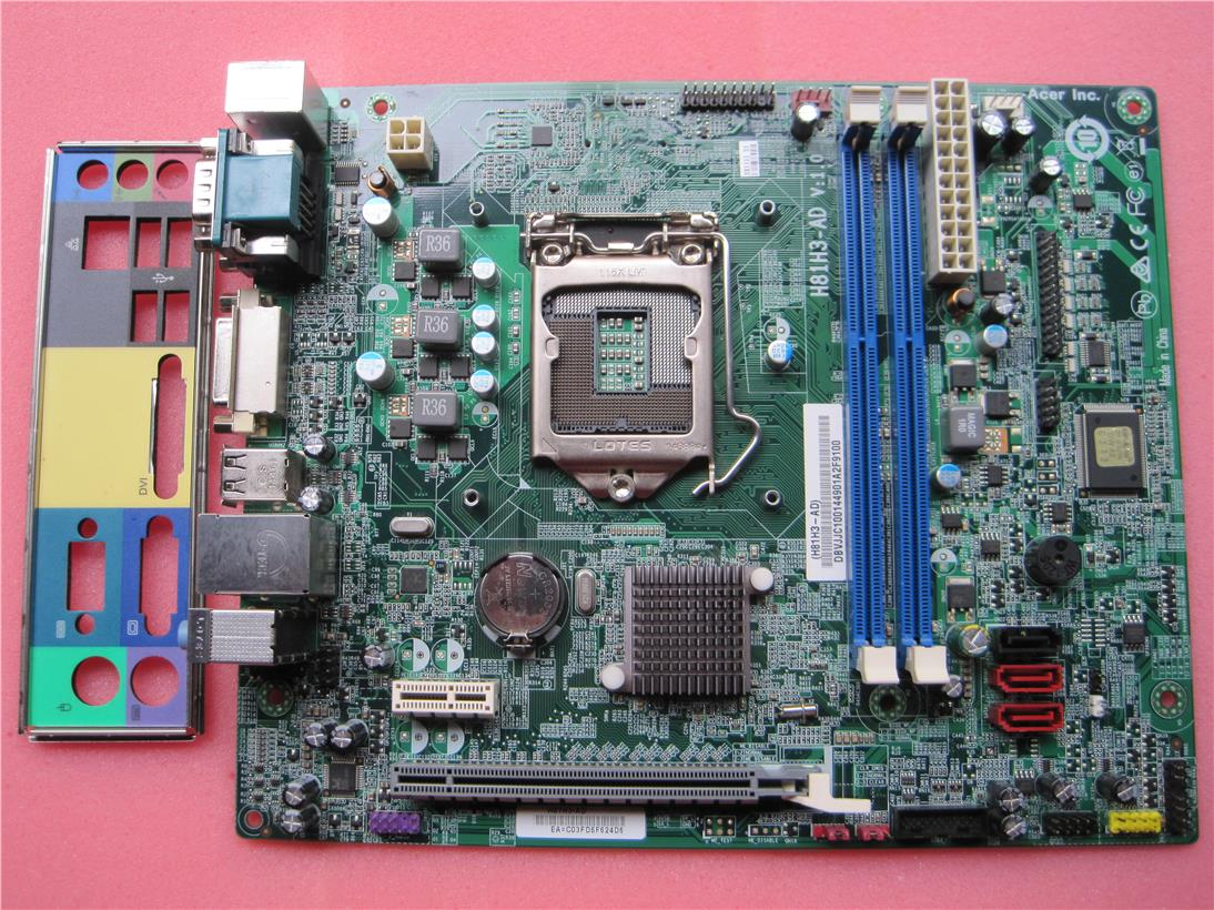 Acer Veriton X2630 X2630G DDR3 s1150 Motherboard H81H3-AD