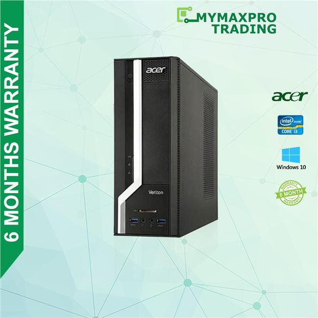 Acer Veriton X2630G SFF i3 4th Gen 4GB RAM 500GB HDD Desktop Win10Pro