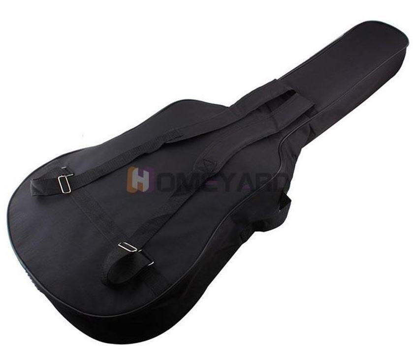 Acoustic Guitar Padded Gig Bag Double Straps