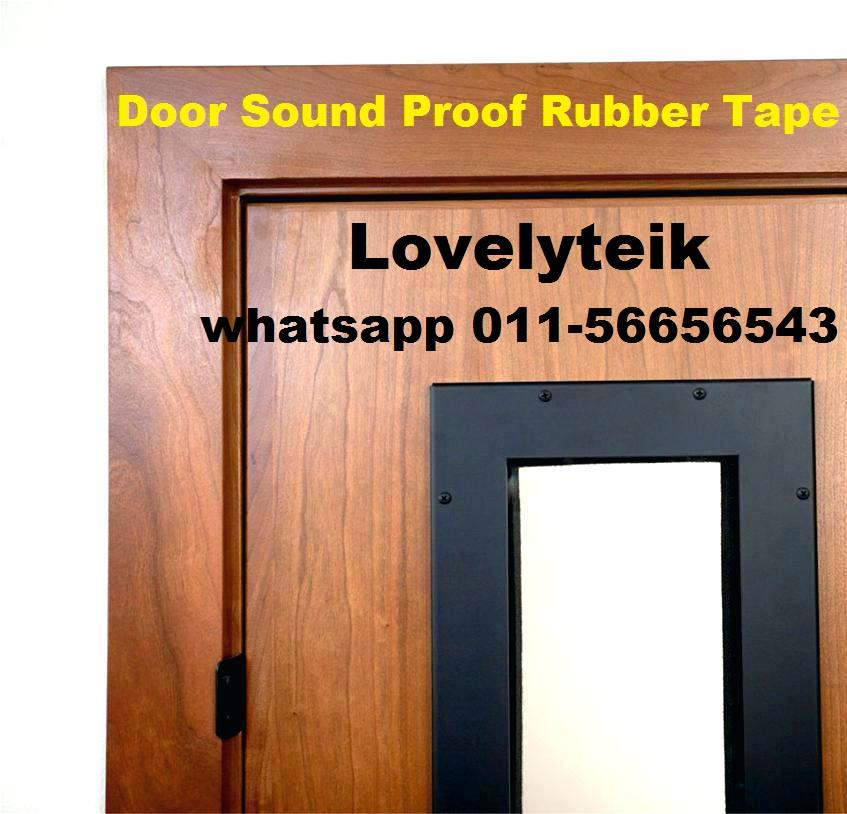 Acoustic Sound Proof Rubber Tape Noise Transmits Blocking Gasket