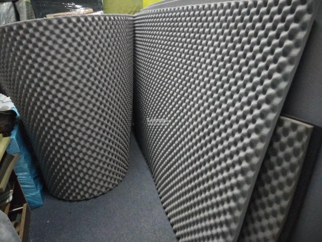 acoustic sound proof soundproof foam fabric panels soundproofing