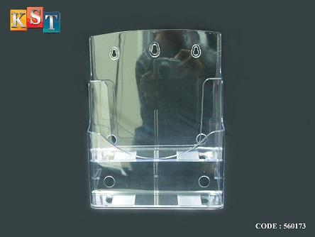 ACRYLIC BROCHURE DISPLAY STAND CATAL End 404040 4040 AM Cool Acrylic Brochure Display Stands