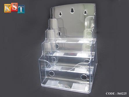 ACRYLIC BROCHURE DISPLAY STAND CATALO End 400400400 4040 PM Classy Acrylic Brochure Display Stands