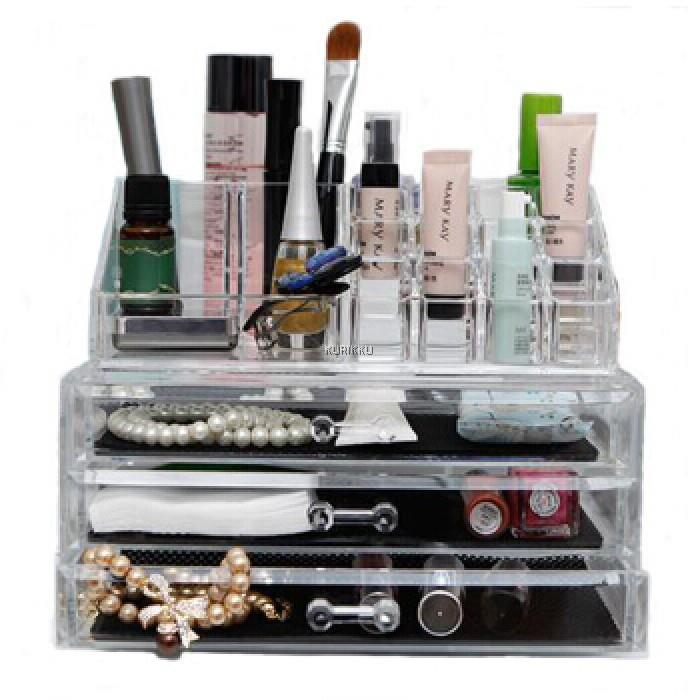 Acrylic Cosmetic Makeup 3 Drawer Lar end 2192019 415 PM