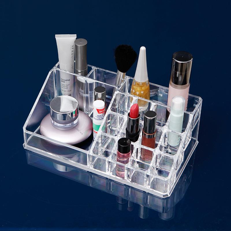 Acrylic Cosmetic Makeup Organizer Lipstick Holder Storage (16 cells)