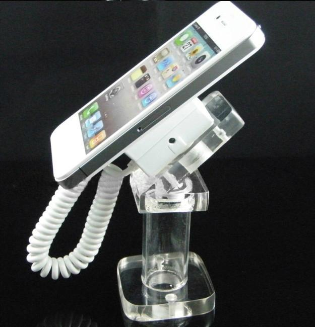 Acrylic Mobile Phone Retractable Security Display Holder
