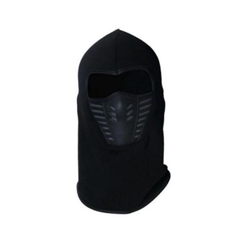 ACTIVE WEAR COLD WEATHER MASK FOR MEN AND WOMEN BLACK