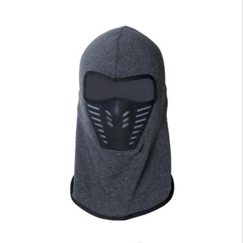 ACTIVE WEAR COLD WEATHER MASK FOR MEN AND WOMEN GRAY