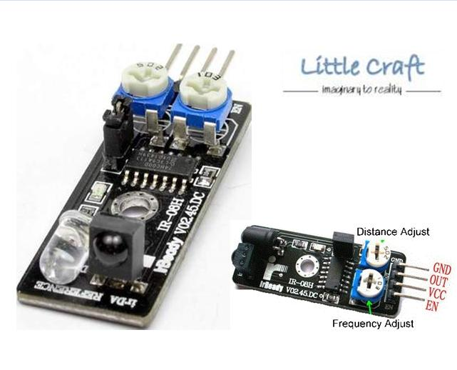 Ad ir obstacle avoidance sensor end  pm