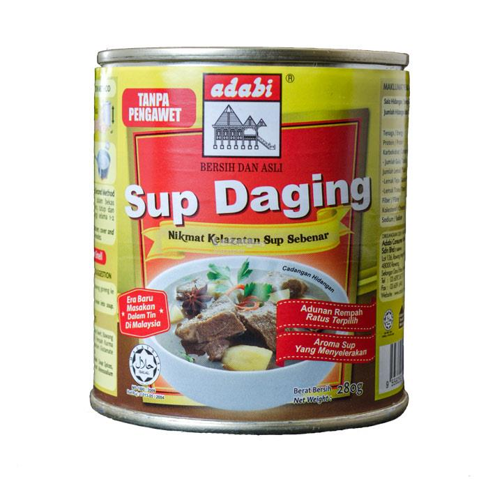 Adabi Sup Daging (280g)