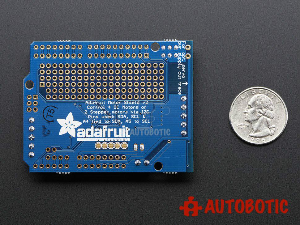 Adafruit Motor/Stepper/Servo Shield for Arduino v2 Kit - v2 3