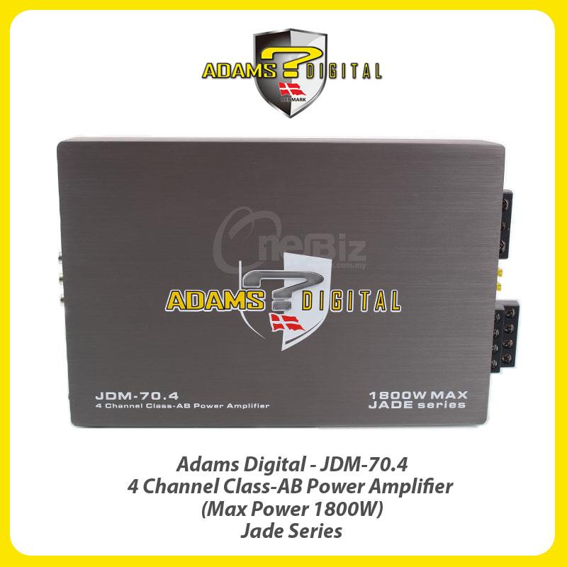 Adams Digital 4 Channel Class-AB Power Amp (Max Power 1800W) JDM-70.4
