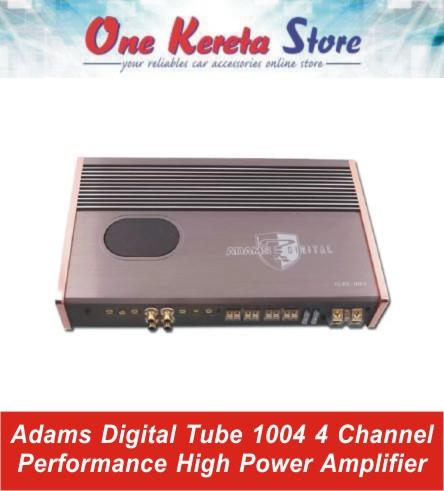 Adams Digital  Tube 1004 4 Channel Performance High Power Amplifier
