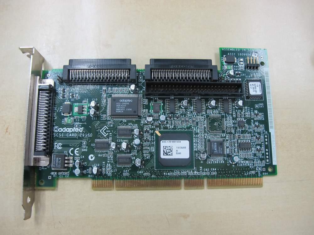 ADAPTEC 29160 SCSI CARD DRIVER