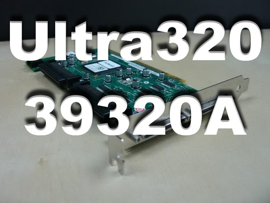 Adaptec SCSI Card 39320A ,Ultra320 SCSI - 320 MBps