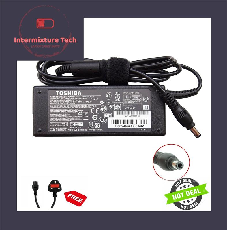 Adapter Power Charger Toshiba Satellite C660 C665 C800D C805D C855