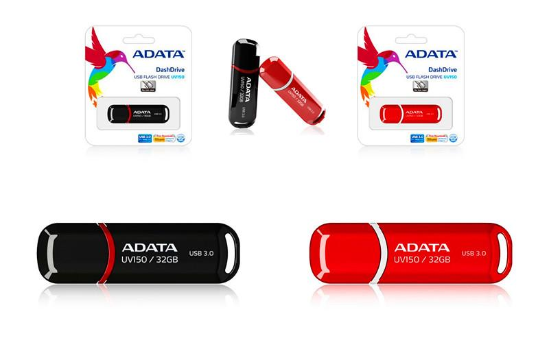 Adata USB 3.0 DashDrive UV150 - 32GB Pendrive - rmtlee