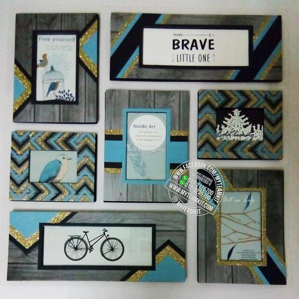 Self-Adhesive Wall Photo Frame