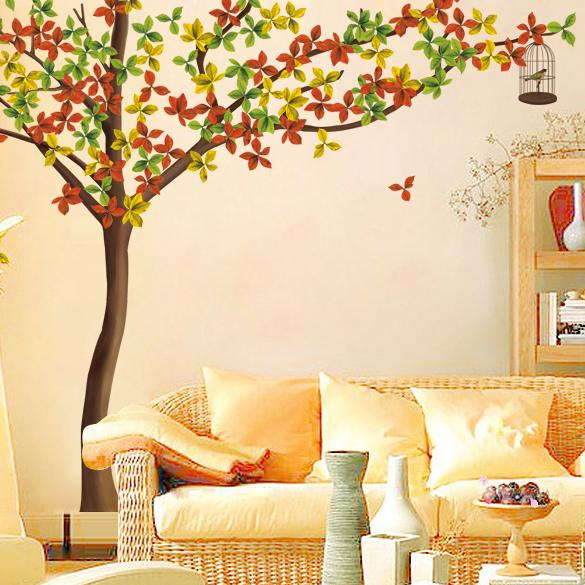 Adhesive wall sticker end 11 24 2017 12 35 pm for Diy tree wall mural