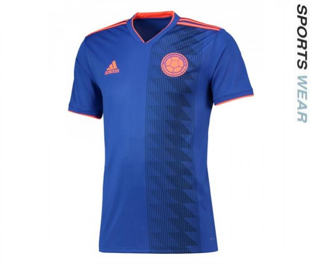 Adidas Colombia 2018 Away Shirt - Blue CW1562 -CW15-62