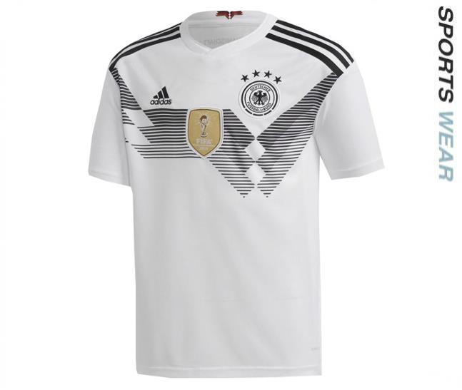 ADIDAS GERMANY 2018 OFFICIAL HOME SOCCER JERSEY BR7843