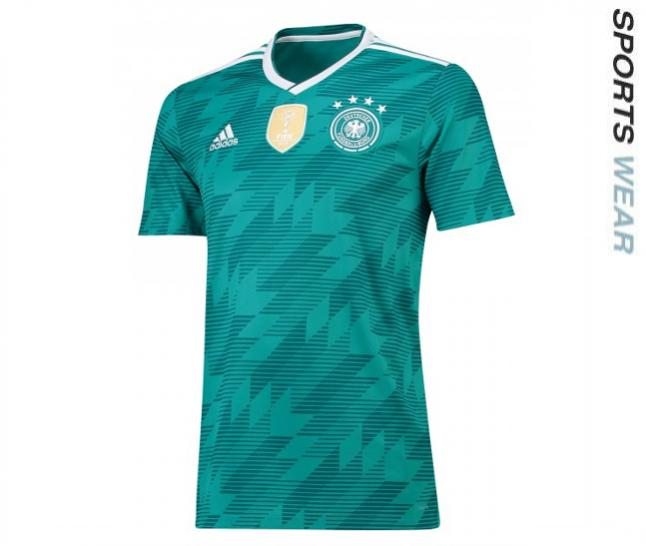 Adidas Germany 2018 Away Shirt - Green BR3144 -BR31-44