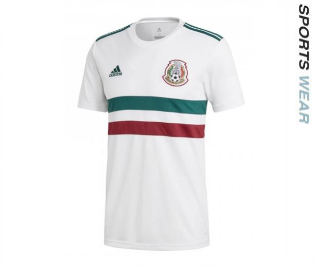 Adidas Mexico 2018 Away Shirt - White BQ689 -BQ689