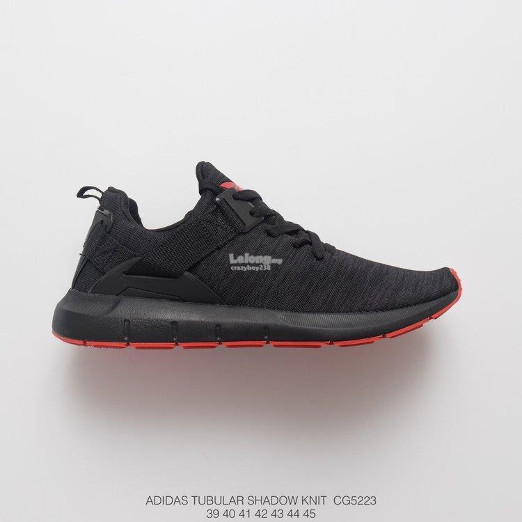 Adidas shoes Adidas TUBULAR SHADOW KNIT BLACK RED (PREMIUM)