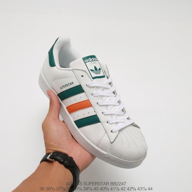 innovative design d98a3 ebd8d discount adidas superstar grøn orange 4d0c4 015b2