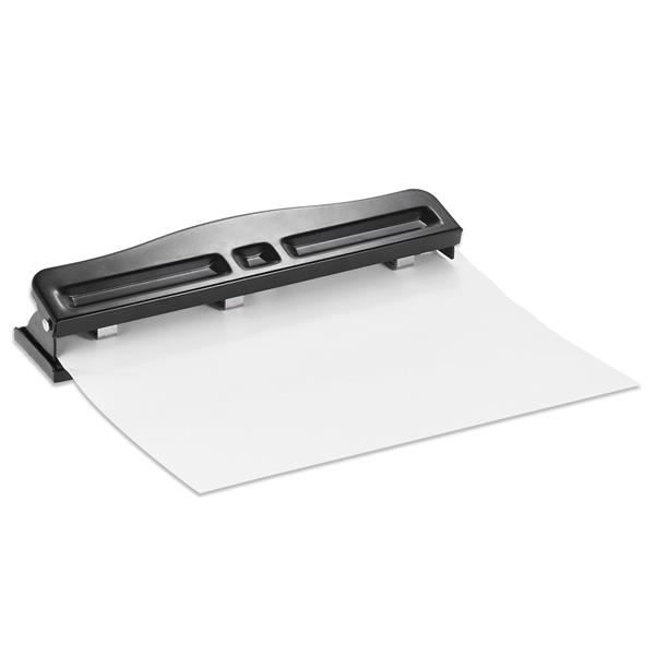 Adjustable 2 3 Hole Punches Desktop Paper Punch 7 Sheets Capacity
