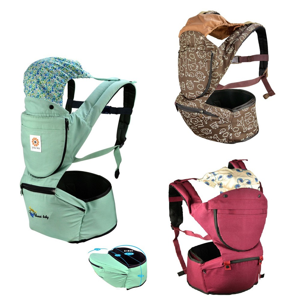 Adjustable Breathable Baby Carrier Hip Seat Multifunctional Kid Wrap Sling
