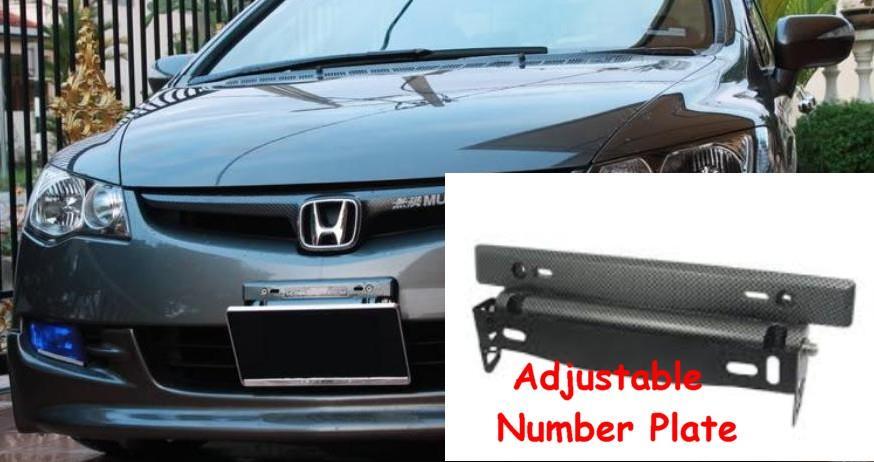 Adjustable Car Number Plate Holder & Adjustable Car Number Plate Holder (end 3/11/2019 12:21 AM)
