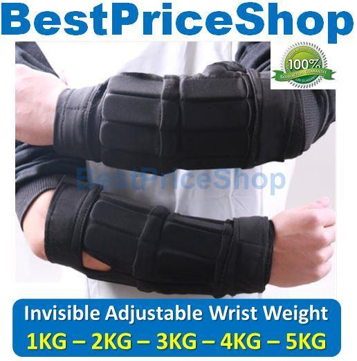 Best Adjustable Wrist Weights: Adjustable & Invisible Wrist Weight (end 7/17/2020 8:44 PM