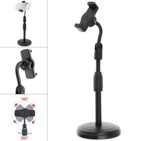 Adjustable Mobile Phone Desktop Stand Holder Portable Live Broadcast