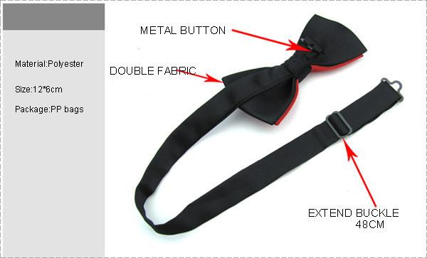 Adjustable Neck Bow Tie 027