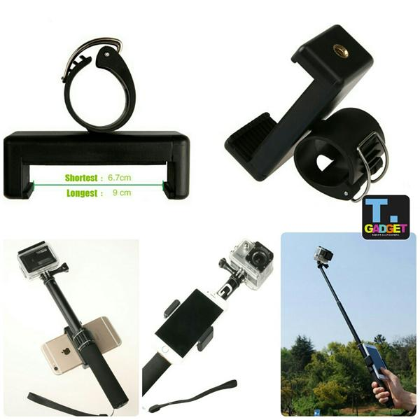Adjustable Phone/ Mobile Holder Adapter for Gopro SJCAM Xiaoyi