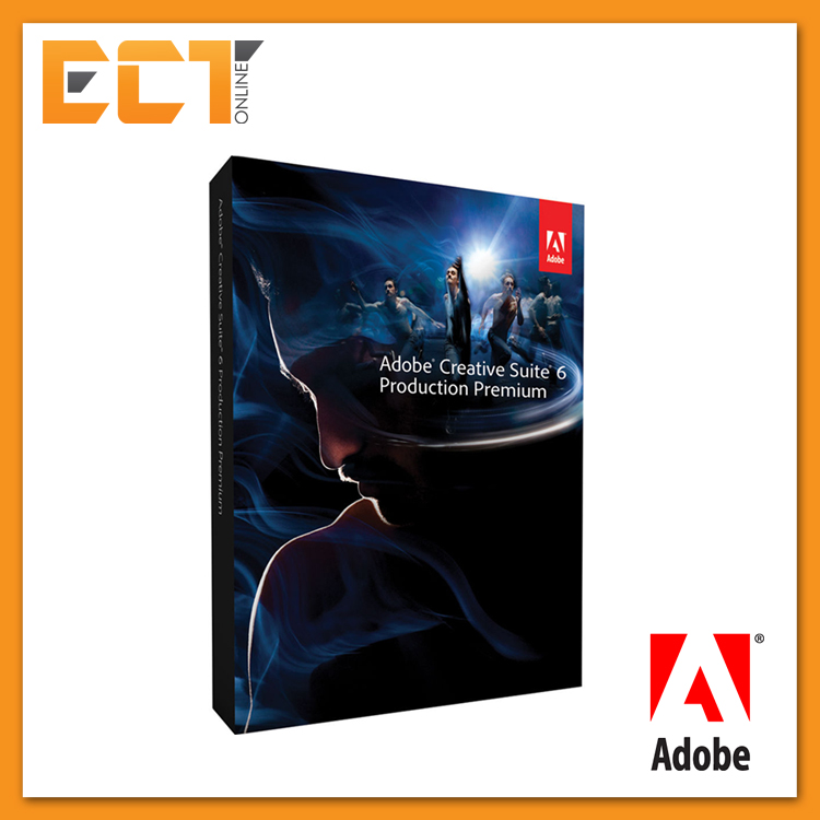 Adobe Creative Suite 6 (CS6) Production Premium Full Package for  Windows/Mac (
