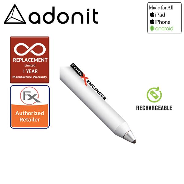 ADONIT DASH 3 Fine Point Stylus - Silver