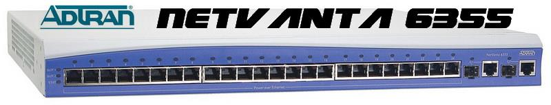 ADTRAN NetVanta 6355 24-Port Gigabit Wired Router 1200740E1