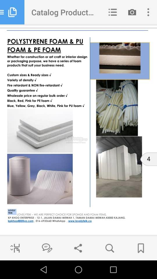Advertising packaging construction floating foam EPS SHEET