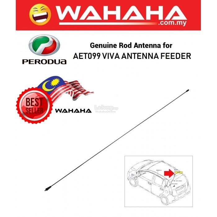 Aerial Antenna Feeder AET099 Perodua Viva Replacement Pole Refill Mast