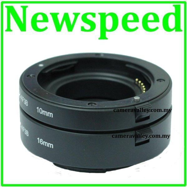 AF Auto Focus Macro Extension Tube for Olympus Micro 4/3 MFT DSLR