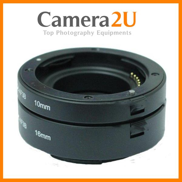 AF Auto Focus Macro Extension Tube Set for Sony NEX A Mount Camera