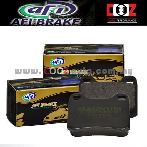 AFI LOW METAL BRAKE PAD DAIHATSU MIRA L500S/L600S MOVE (FRONT)